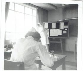 Unintended consequences occur when you choose a career. This photo shows nursing students in the classroom