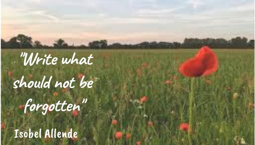 Quote: Write what should not be forgotten by Isobel Allende
